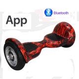 Hoverboard con APP 10inch Swagboard, Gyroscooter para manos libres Junta de control de pie Electric Skateboard Electric Scooter