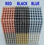 Las bolas de 3mm de imán imán Imán de neodimio de rótula de bolas magnéticas Color