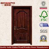 Porta interior do disconto da porta do quarto do carvalho feito sob encomenda (GSP2-043)