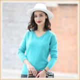 Form-reine Farben-Kaschmir-Strickjacke 100% der Frauen