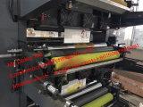 Stampatrice di ceramica di Flexo di colore del rullo sei
