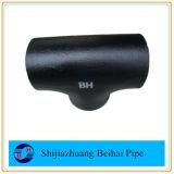 ANSI reducido inconsútil B16.9 de la te del acero de carbón Sch80