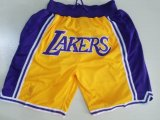 Лучшие брюки Swingman Lakers шорты баскетбольные шорты