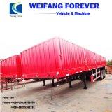 Eixo 3 40ton parede lateral do veículo de transporte de carga a granel semi reboque