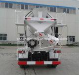 작은 Forland 6 바퀴 3000L 시멘트 믹서 트럭