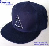 育てられたロゴの製造者が付いている新しいデザイン6パネルの帽子