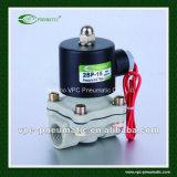 2/2 di valvola per aria di plastica dell'elettrovalvola a solenoide