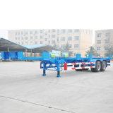 2車軸骨組み容器ターミナルトレーラー3の車軸
