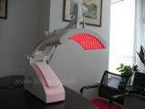 LED portátil luz vermelha e azul para tratamento de câncer de pele