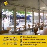 Huaye販売(hy268j)のためのフレームのガラス壁のテント