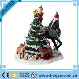 De Sneeuwman van Kerstmis van het paar voor de Beeldjes van de Sneeuwman van de Hars van de Decoratie