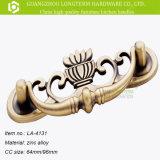 Knop van de Lade van de Trekkracht van het Meubilair van het Handvat van de Deur van de Keukenkast van Zamak de Uitstekende