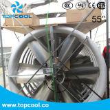 Ventilador do painel da ventilação FRP do ar da indústria leiteira 55 polegadas com teste de Amca