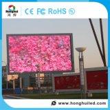 Visualización de LED a todo color del alto brillo P16 de la INMERSIÓN al aire libre