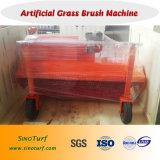 فرشاة آلة, كاسحة آلة لأنّ اصطناعيّة عشب مرج, عشب اصطناعيّة
