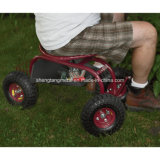 Assento removível do carro do assento de jardim do rolamento do assento do trabalho do jardim
