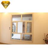 Portello della rottura termica e finestra di alluminio della stoffa per tendine di Windows con ISO9001