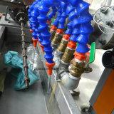 Extrusora plástica do parafuso gêmeo cónico do PVC da capacidade elevada para a linha extrusão da máquina da produção da extrusão do perfil da tubulação da câmara de ar