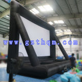 Qualitäts-im Freien aufblasbarer bekanntmachender Bildschirm/aufblasbarer Projektions-Film