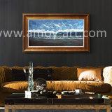 Olieverfschilderij het van uitstekende kwaliteit van het Zeegezicht met Blauwe Overzees en Hemel voor de Decoratie van het Huis