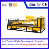 Placa-Tipo elevado minério magnético do inclinação de Forcoal Nonmetalliferous do separador de Iron1524