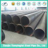 Espiral de carbono soldado do tubo de aço de Linha