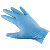 Широко используются одноразовые нитриловые перчатки