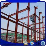 El marco de acero ligero de la prefabricación estructura el edificio