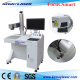Machine de fibre optique d'inscription de laser avec rotatoire pour les pièces cylindrique