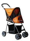 Pet Carrier Cage Home Cart Poussette Pet Trolley