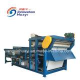 実行中の沈積物の処置のためのフィルター出版物機械