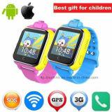 3G/WiFi het slimme GPS van de Camera Draagbare Horloge van de Drijver voor de Gift van Jonge geitjes/van het Kind D18