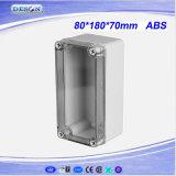 Cover desobstruído IP66 ABS/PC Toyogiken Waterproof Box 80X180X70mm
