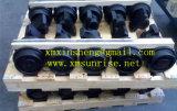 굴착기 하부 구조는 Komatsu PC60-5를 위한 운반대 롤러/최고 롤러/위 롤러를 분해한다