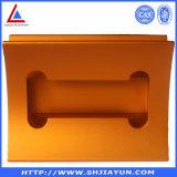 Corchete de aluminio anodizado aduana del perfil