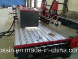Douoble表の木工業機械イタリアHsd空気冷却スピンドル日本YaskawaサーボモーターCNCのルーター