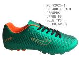 Deux couleurs deux chaussures du football d'unité centrale de taille