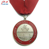 Medalla redonda modificada para requisitos particulares del metal del maratón para el recuerdo
