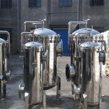 Saco de Manual de estilo vertical do alojamento do filtro 304L/316L para filtração de Bebidas