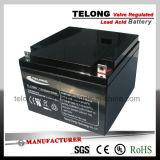 l'UL de la CE 12V24ah reconnaissent la batterie d'acide de plomb pour le système d'alimentation d'UPS