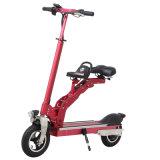 Alta calidad de moda plegable eléctrica Skateboard Bike con 2 asientos para niños
