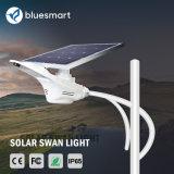 luz recargable de los productos 15W-80W de movimiento del sensor LED del jardín al aire libre integrado solar de la calle