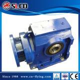 Reductor de la serie S mecanismo impulsor helicoidal de 90 del grado del eje del motor con engranajes de gusano reductores del engranaje