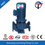 Gri le recyclage de l'eau chaude de la pompe de recirculation