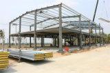 工場直売の電流を通された鉄骨フレームの建物