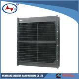 Radiador del aluminio del radiador del generador del radiador de Genset del radiador de Kta38-G5-7 Weichuang