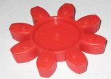 Acoplamento do plutônio, acoplamento de borracha com o molde dos jogos cheios com amarelo, vermelho, preto, roxo, verde, bege, azul