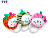 Nuevo diseño de mascota Estrella de peluche juguete con cuerda de algodón y Squeaker Bosw1072/15cm.