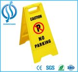 Segnale di pericolo di sicurezza bagnata gialla del pavimento dei pp