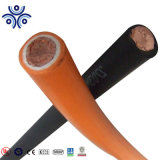 16mm 25mm 35mm 50mm 70mm 95mm2 구리 입히는 알루미늄 또는 구리 지휘자 PVC/TPE/Rubber/Epr/CPE에 의하여 넣어지는 용접 케이블 600V